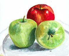 watercolor art still life - Google Search