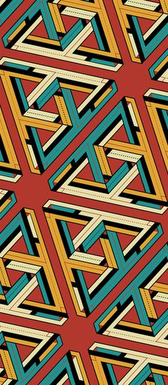 Escher & His Flat Design Band on Behance