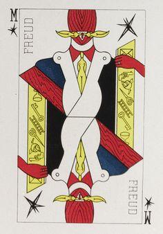 Évrard de Rouvre - Le Jeu de cartes surréaliste (Surrealist playing cards), 1945