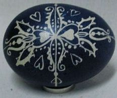 Hungarian Folk Art Easter Egg Decoration - Folkology - Authentic Folk Crafts and Culture from Hungary