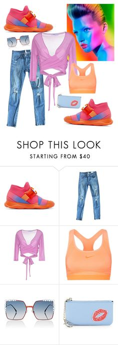 """""""Hot High-top Sneakers"""" by sweetyincago ❤ liked on Polyvore featuring Christopher Kane, rag & bone, Blumarine, NIKE, Fendi and Saks Fifth Avenue"""