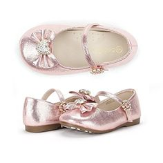Dream Pairs ANGEL-22 Mary Jane Front Bow Heart Rhinestone Buckle Ballerina Flat (Toddler/ Little Girl) New, Pink, 3 M US Infant DREAM PAIRS http://www.amazon.com/dp/B00PCV9AOE/ref=cm_sw_r_pi_dp_sk0Awb1BC9XG7
