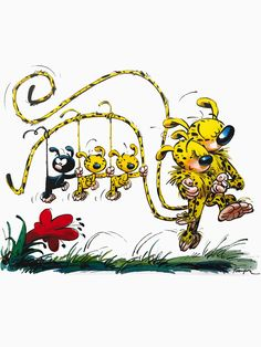"""marsupilami"" T-Shirts & Hoodies by darkdream 