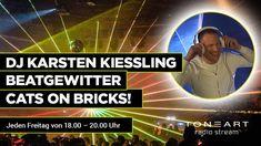 Schaltet jeden Freitag ein und verpasst DJ Karsten Kiessling Beatgewitter Cats on Bricks nicht! Nur auf TONEART-Radio von 18.00 - 20.00 Uhr.    #toneartshop #toneart #shop #toneartradio #radio #music #dj #sound #djkiessling #show #breakout #freitag #every #friday #radiostream #party #mix #mixer #studio #programm Internet Radio, Radios, The Cure, Dj Sound, Pop, Mixer, Studio, Party, Augsburg