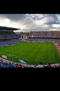 Vista interna Estadio Vicente Calderon