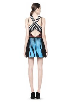 ALEXANDER WANG - PLEATED CAMISOLE DRESS