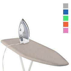 "Home Essentials Steel #Ironing #Board Cushioned Cover 54"" Heat Resistant Color 1 Home Essentials Steel Ironing Board Cushioned Cover 54"" Heat Resistant Color Cust..."