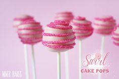 {Es geht rund} Swirl Cake Pops Tutorial | niner bakes
