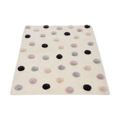 Add a playful pop of colour to your kid's bedroom with this pretty tufted rug. Polka Dot Rug, Touch Lamp, Makeup Rooms, Imaginative Play, Saved Items, Metallic Thread, Room Rugs, Kids House, Friends In Love