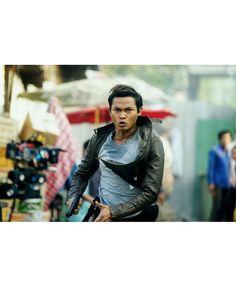 Skin Trade Tatchakorn Yeerum Tony Jaa Black Leather Jacket