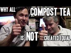 Why Compost Tea is NOT Created Equal & How to Make the Best Compost Tea Compost Tea, Worm Composting, Container Gardening, Gardening Tips, Organic Soil, Worm Farm, Square Foot Gardening, Brewing Tea, Hydroponics