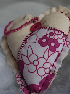 pink swatch heart