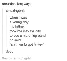 my chemical romance tumblr posts - Google Search
