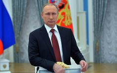 Russian President Vladimir Putin wished the country's mothers, daughters, wives and female colleagues a happy International Women's Day, noting that the fairer sex brings beauty, brightness and hope into the world. Europe News, Uk Europe, Vladimir Putin, Head In The Sand, Happy International Women's Day, World Leaders, Atheist, Barack Obama, Ladies Day