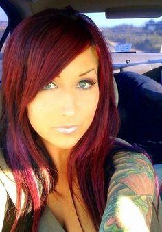 Red hair pretty red hair