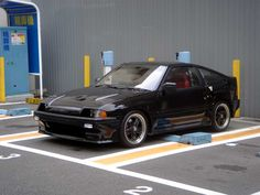 HONDA CRX Si / Mugen Full AERO / Solex Special  Do you love Jdm cars? beautiful women? Fast Cars? Stanced cars? Then check out my website an