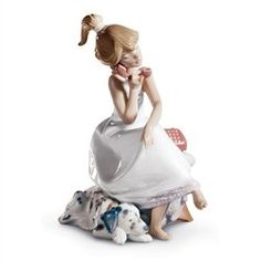 Lladro Porcelain Figurine: ChitChat | http://www.cybermarket24.com/lladro-chitchat-porcelain-figurine/