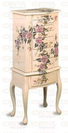 you will find lovely jewelry boxes and armoires for sale here there are standing jewelry chests and stand up jewelry armoires wall mounted jewelry - Stand Up Jewelry Box