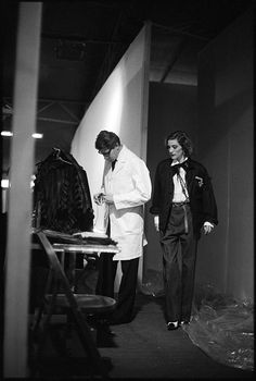 Yves Saint Laurent and Loulou de la Falaise