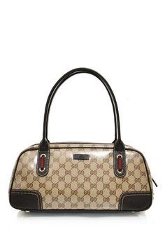347849b9ecfe -Gucci- Crystal  GG  Guccissima Boston Bag  Gucci  Handbags