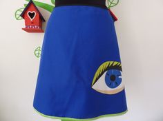 .      Miss Eye on You Green (Size XL / 44) Skirt