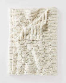 Toggle Knit Throw