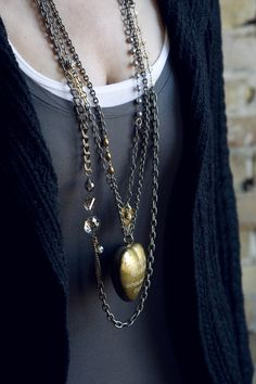 love the layering. Thanks Sheer addiction jewelry