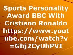 Sports Personality Award BBC With Cristiano Ronaldo