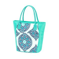 7f3b26621b5d Our Monogrammed Boho Cooler Tote Bag is the perfect sized personalized  cooler tote for all of your beach and pool going snack and lunch needs!
