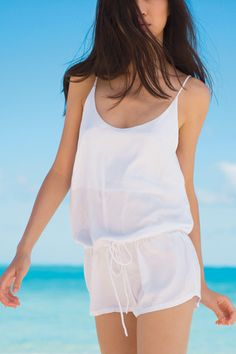 MIKOH - La Jolla Romper / Various Colors | The Girl and The Water