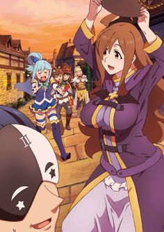 "Crunchyroll - ""Konosuba"" Visual Novel Release Plans Outlined"