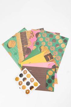 Girl Scout Cookies Mix & Match Stationery By Girl Scouts Of The U.S.A.