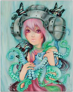 * Camilla d`Errico * One of my favorite artists of ALL TIME
