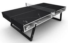 Table de ping pong black par Aruliden - BLOG DECO DESIGN