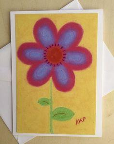 Stationery Cards Set of 10- Pink Rush Junior Petal