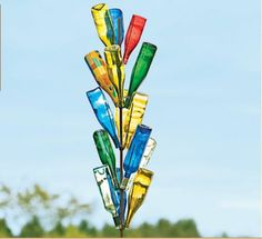 Bottle Tree - eclectic - outdoor decor - Gardener's Supply Company