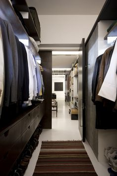 I can compromise many, multipurpose to save space but a walk-in closet is a must!!!