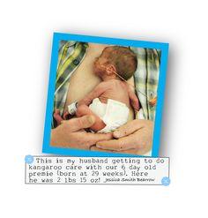 Kangaroo Care premature baby cuddles born at 29 weeks Preemie Babies, Premature Baby, Kangaroo Care, Small Baby, Baby Born, Nicu, Pro Life, Cuddling, Animals