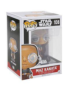 Funko Star Wars: The Force Awakens Pop! Maz Kantana Vinyl Bobble-Head,