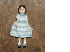 Sara-Cole-Resin-Baby-Bee-Hitty-Doll-Finished-by-Julie-Old-Crow