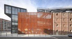 Built by atelier d'architecture King Kong in Lille, France with date 2014. Images by Roland Halbe. In its cultural development policy framework and renovation of the Moulins neighbourhood, the City of Lille started i...