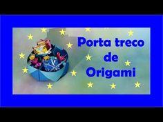 PORTA TRECO OU ORGANIZADOR DE ORIGAMI - YouTube