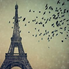 I would love to get this as a tattoo. But not the Eiffel Tower...  #tattoos