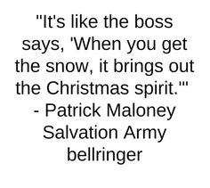 Patrick Maloney, 53, has been greeting passersby and inspiring donations outside the J.C. Penney store for four Christmas seasons now. Cheerfully, he takes his work seriously.