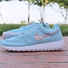 f9d594cc785d Gorgeous! Brand new customized pair of Nike Roshe with Swarovski  Rhinestones. Limited sizes available