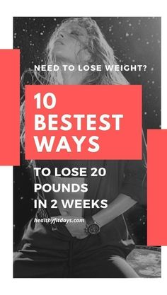 10 Tricks To Drop 20 Pounds in 2 Weeks - Healthy Fit Days Fast Weight Loss, Weight Loss Tips, Slim Down Drink, Cardio Routine, Need To Lose Weight, Boost Your Metabolism, Lose 20 Pounds, Weight Loss Supplements, Burn Calories