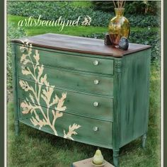 Over 20 of the Most GORGEOUS Green Painted Furniture I could Find You! • That Sweet Tea Life
