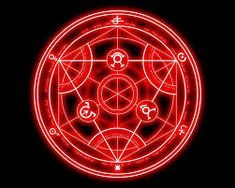 Výsledek obrázku pro anime magic circle