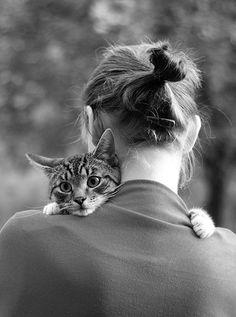 I love kitty hugs <3