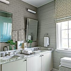 Guest Suite: The Bath | Palmetto Bluff Idea House Photo Tour - Southern Living Mobile